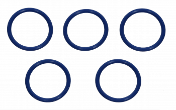 Blue silicone rings