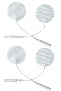 VITAtronic adhesive electrodes round 30 mm (set of 4), reusable